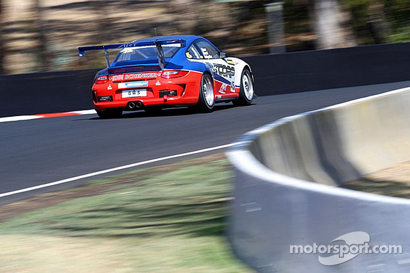 #35 保时捷 997 GT3 Cup: Ric Shaw, Indiran Padayachee, 安德鲁 Fisher, Aaron Zerefos