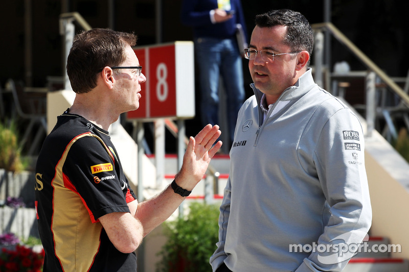 Eric Boullier, McLaren Yarış Direktörü