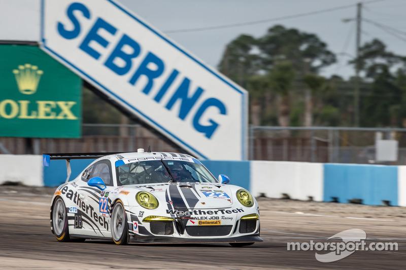 #22 Alex Job Racing 保时捷 911 GT America: 库珀·麦克尼尔, 莱·基恩, 菲利普·弗洛蒙维勒