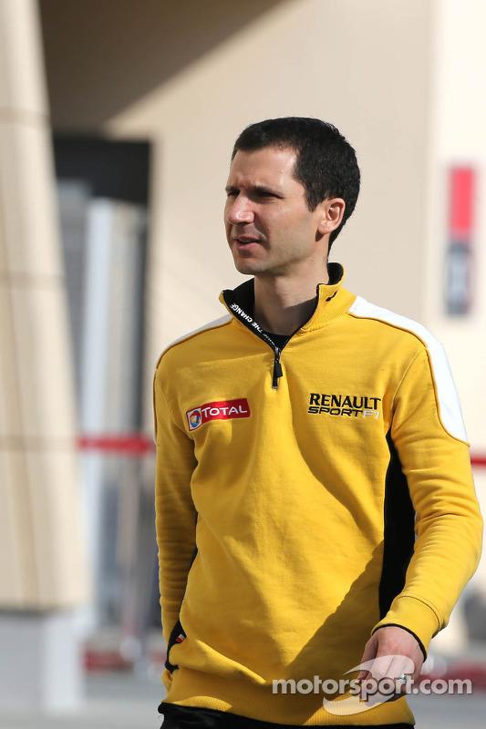 Remi Taffin, Renault Sport F1 Chefe de operações de pista