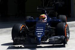 Felipe Nasr, Williams F1 Team, Testfahrer