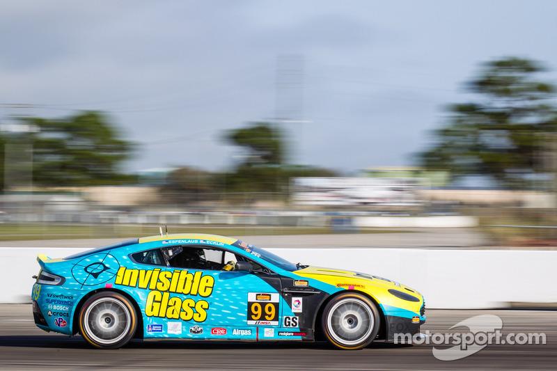 #99 AutoMattic Racing Aston Martin Vantage: Rob Ecklin, Steve Phillips, David Russell, Charles Espen