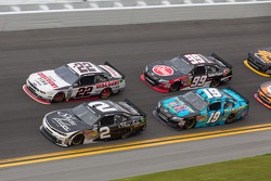 Brian Scott; Brad Keselowski; Mike Bliss; James Buescher