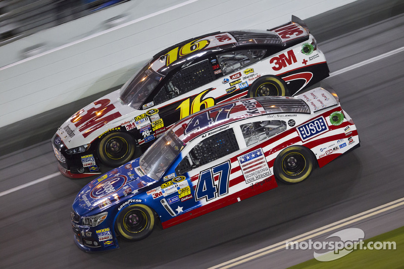 A.J. Allmendinger and Greg Biffle