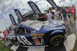2013 Daytona 500 winning car of Jimmie Johnson