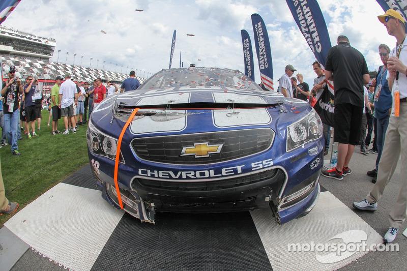 2013 Daytona 500 winning car of Jimmie Johnson