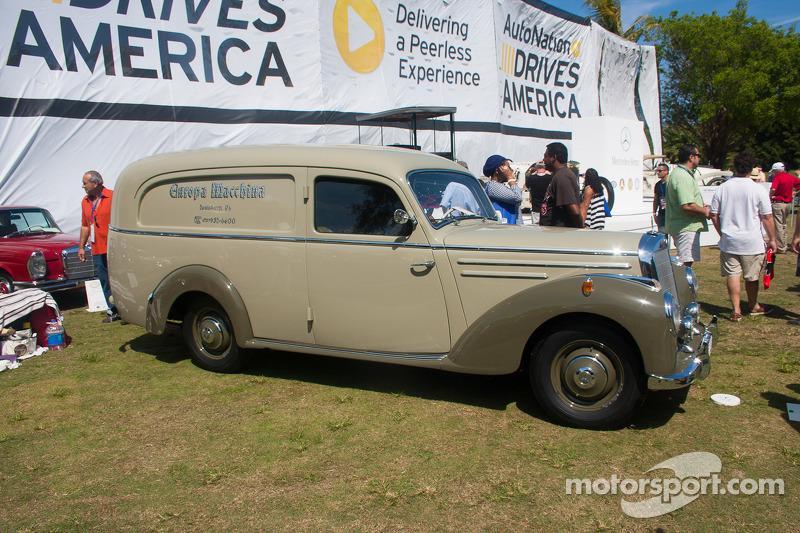 1952 mercedes benz 220 lieferwagen at boca raton for Mercedes benz boca raton