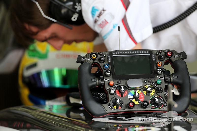 Volantes del equipo Sauber F1