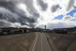 Clouds over Phoenix International Raceway