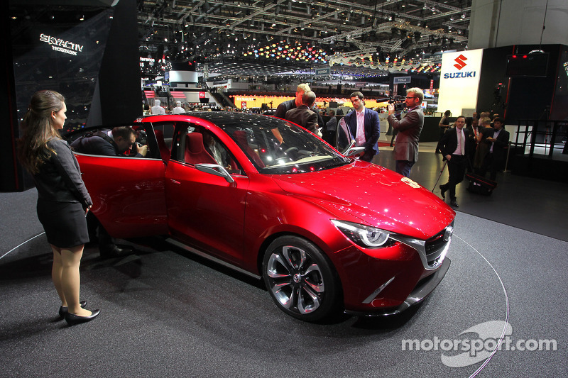 Mazda Hazumi Concept at Geneva International Auto Show - Automotive ...