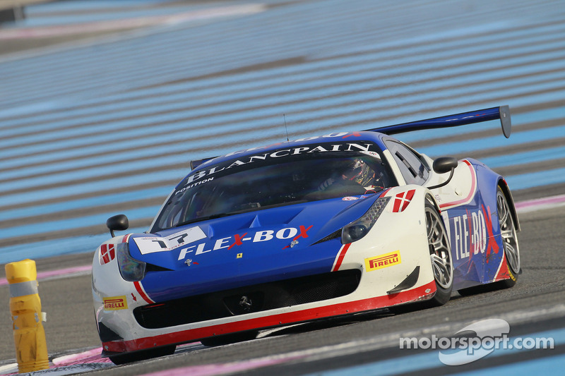 #17 Insight Racing com Flex-Box Ferrari 458 Italia