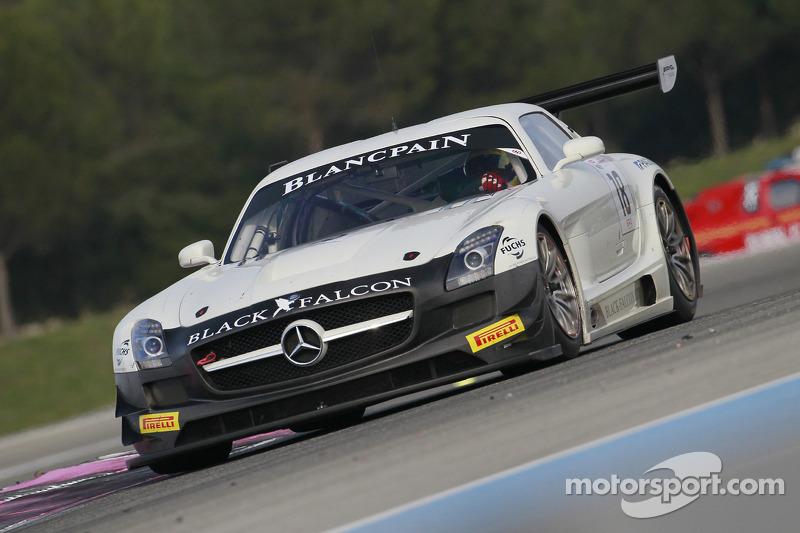 #18 Black Falcon 梅赛德斯 SLS AMG GT3