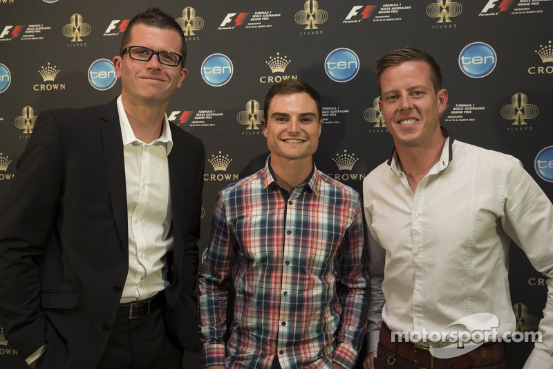 Garth Tander, Tim Slade ve James Courtney