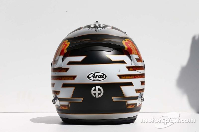 Il casco di Kamui Kobayashi, Caterham