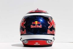 O capacete de Daniil Kvyat, Scuderia Toro Rosso