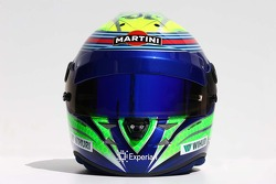 The helmet of Felipe Massa, Williams