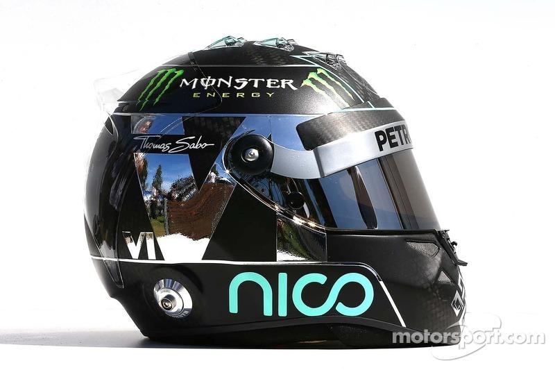 Helm von Nico Rosberg, Mercedes AMG F1