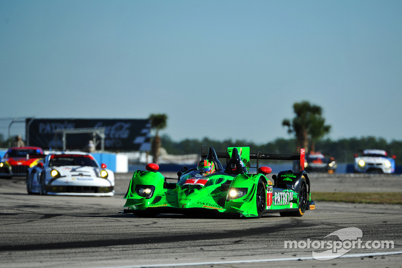 #1 Extreme Speed Motorsports HPD ARX-03b Honda: Scott Sharp, Ryan Dalziel, David Brabham