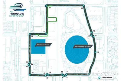 Fórmula E presenta su primer circuito
