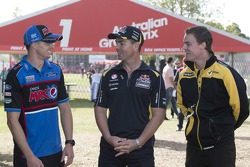 Mark Winterbottom, Craig Lowndes and James Moffat