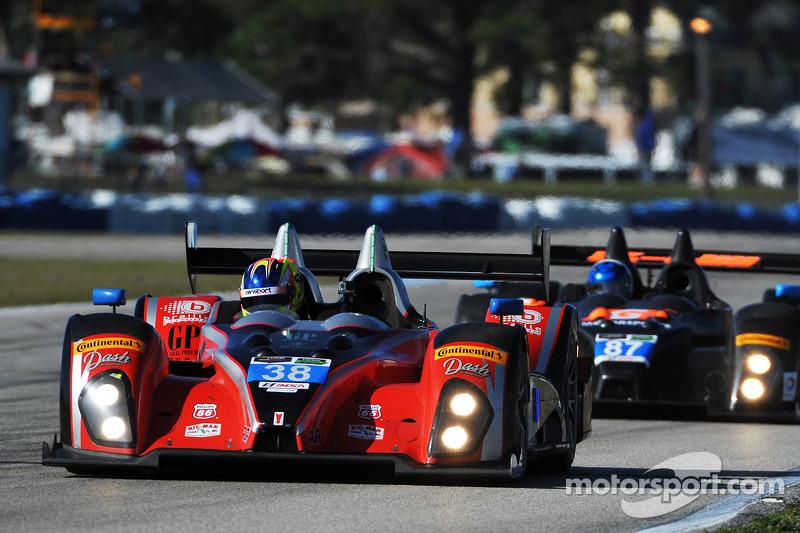 #38 Performance Tech Motorsports ORECA FLM09 Chevrolet: Charlie Shears, Raphael Matos, David Ostella