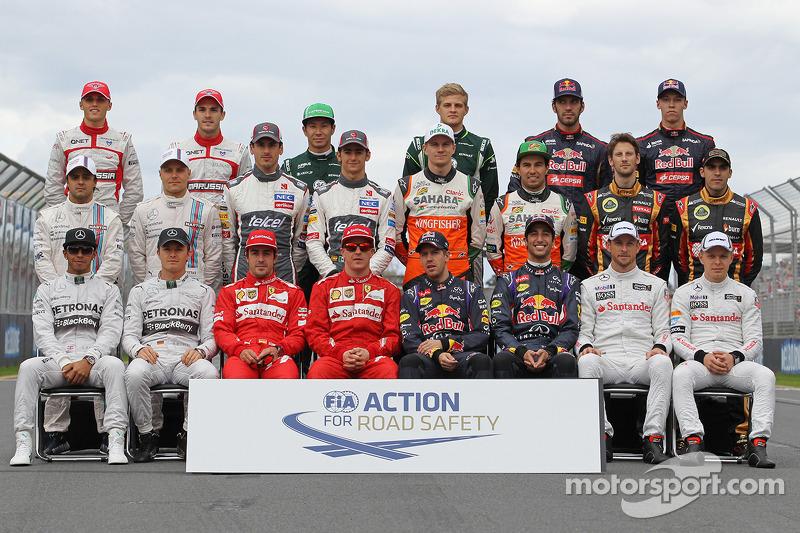 2014 Formula 1 sezonu pilotları