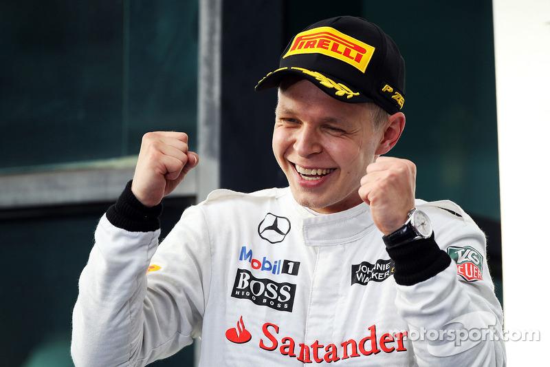 2014 год, Гран При Австралии, Кевин Магнуссен, McLaren, 2-е место