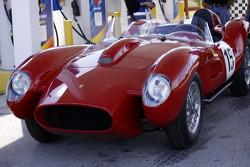HoF Charity Laps: detail of the Ferrari 250 Testa Rossa