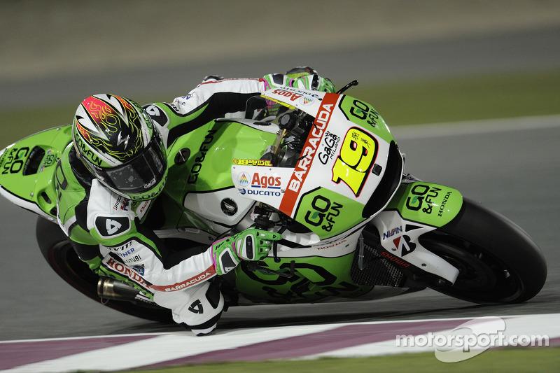 Alvaro Bautista, Go & Fun Honda Gresini at Qatar GP