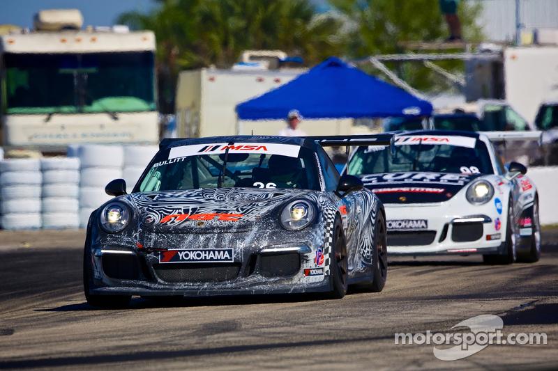 #26 NGT Motorsport Porsche 991 GT3 Cup Car: Mark Bullitt