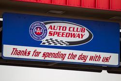 Auto Club Speedway simbolo