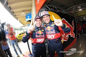 #0 Cacá Bueno and Pato Silva, takes the pole position