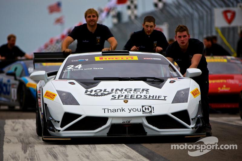 #24 Reiter Engineering Lamborghini Gallardo FL2: Albert von Thurn und Taxis