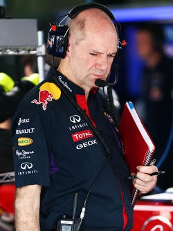 Adrian Newey, engenheiro da Red Bull