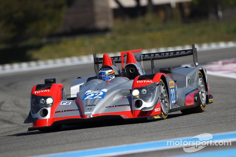 #22 Millennium Racing - Oreca 03 Nissan: Fabien Giroix, John Martin