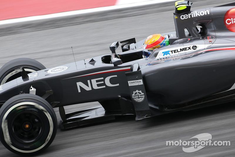 Esteban Gutierrez , Sauber F1 Takımı