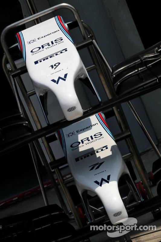 Williams F1 Team, Frontflügel