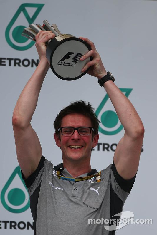 Andrew Shovlin, Mercedes AMG F1, Ingenieur