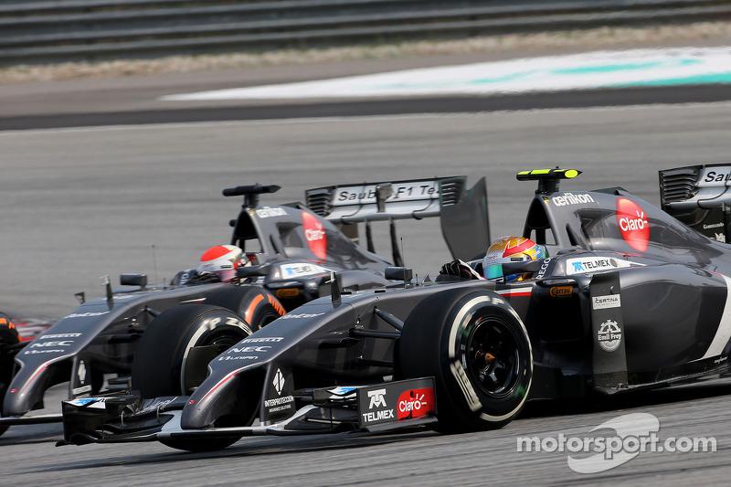 Esteban Gutierrez , Sauber F1 Takımı ve Adrian Sutil , Sauber F1 Takımı  30