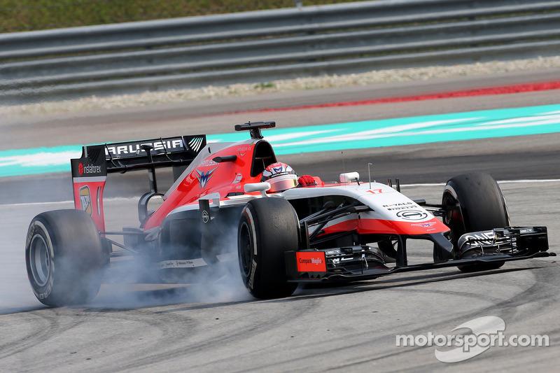朱尔斯·比安奇(法),玛鲁西亚F3车队