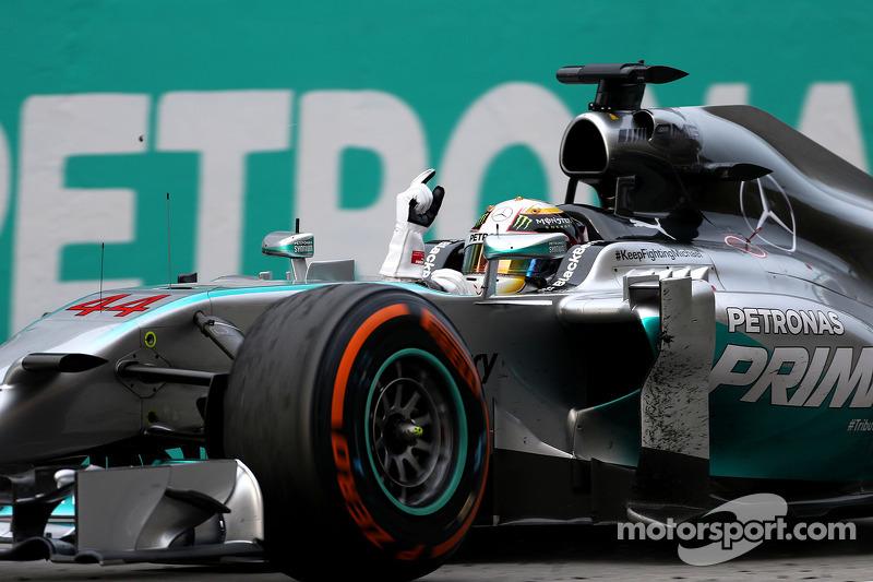2014  Lewis Hamilton (GBR), Mercedes AMG F1 Team