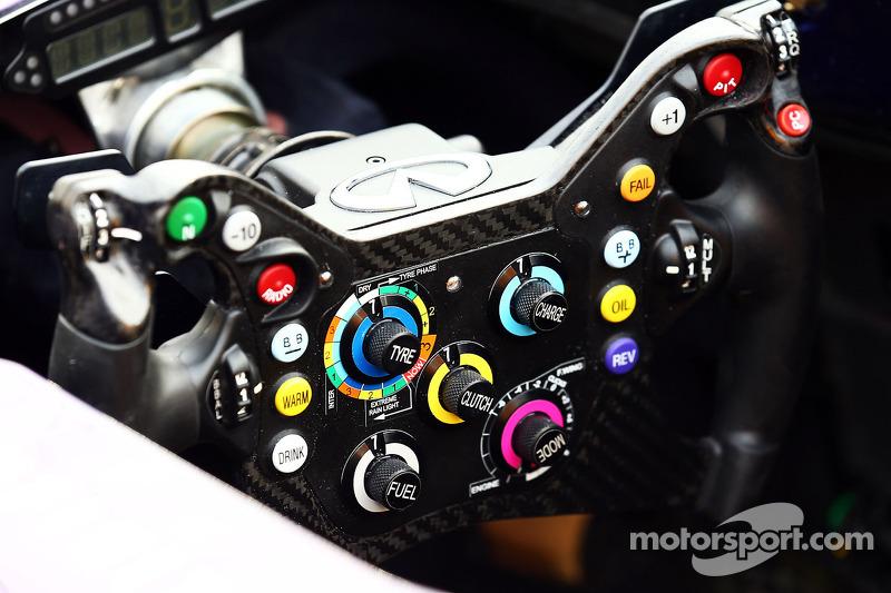 Red Bull Racing RB10 steering wheel