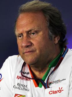 Robert Fernley, Sahara Force India F1 Team