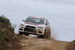 Massimiliano Rendina ve Mario Pizzuti, Mitsubishi Lancer Evo X