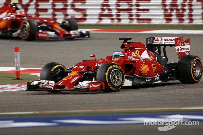 Fernando Alonso, Scuderia Ferrari ve Kimi Raikkonen, Scuderia Ferrari 06