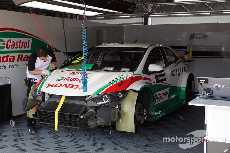 Gabriele Tarquini, Honda Civic, Castrol Honda WTC Takımı