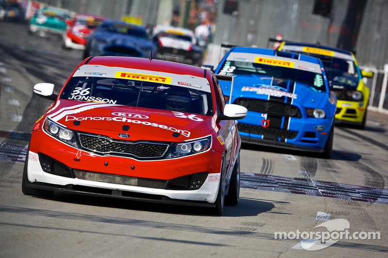 36 kia racing kinetic motorsports kia optima nic jonsson at long beach. Black Bedroom Furniture Sets. Home Design Ideas