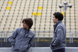 Roberto Merhi, Mercedes AMG DTM-Team HWA, y Robert Wickens, Mercedes AMG DTM-Team HWA