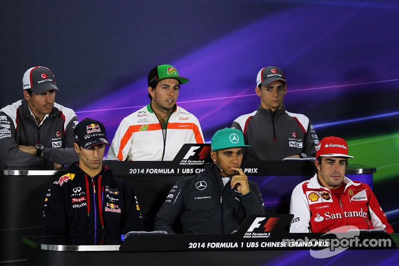 FIA Drivers press conference