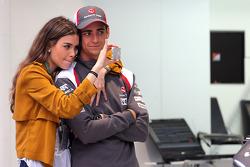 Esteban Gutierrez, Sauber F1 Takımı ve kız arkadaşı